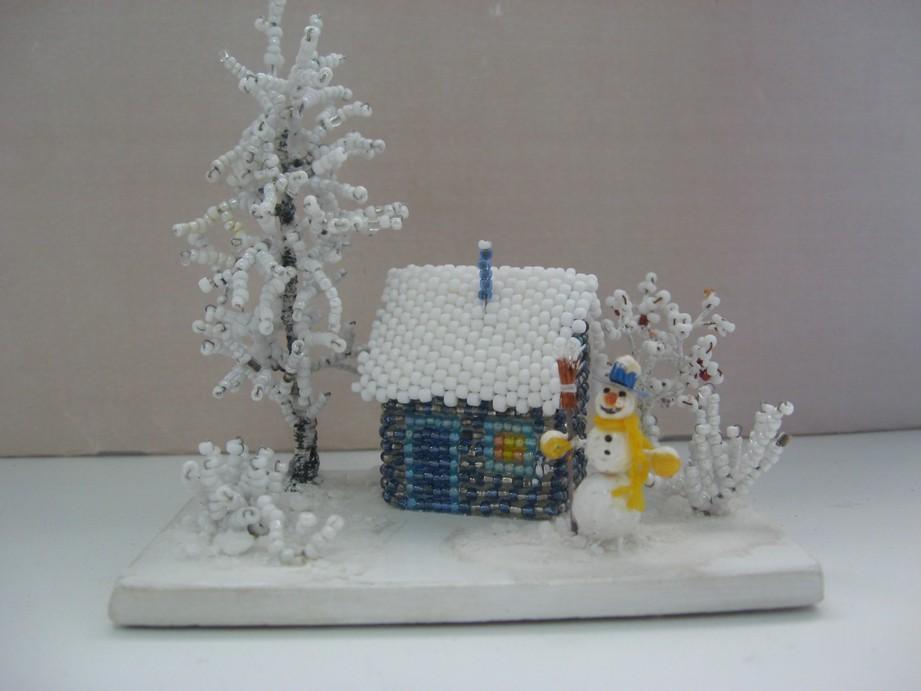 Зимние поделки объемные 3